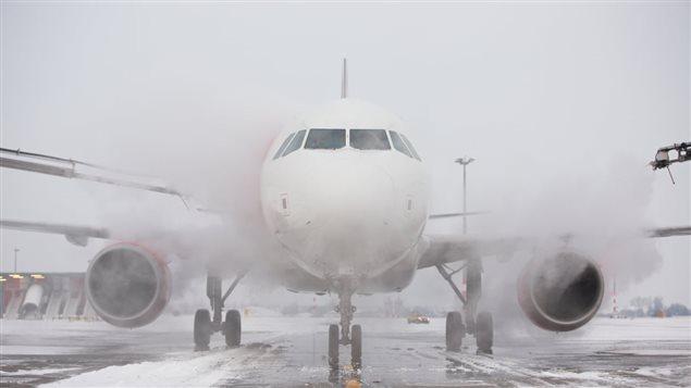 تعطل الملاحة الجوية في كندا جراء البرد القارس