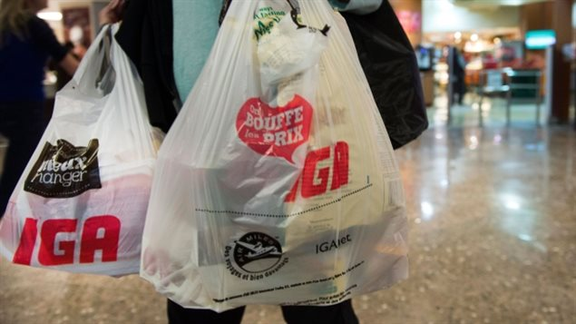 Single-use plastic bags are headed to extinction in Montreal.