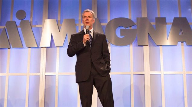 Donald Walker, CEO of Magna, the largest auto parts supplier in N. America, was one of the highest paid CEO's in Canada last year at over $28 million in income, stocks, bonus, and benefits