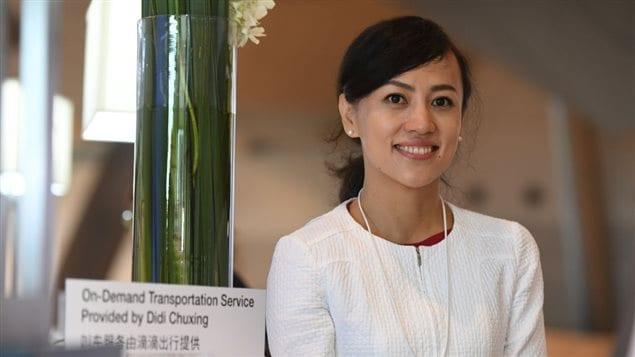 Jean Liu presidenta de Didi Chuxing el 27 de junio 2017