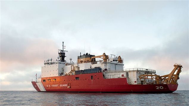 Scientists aboard the icebreaker Healy measured seawater chemistry at scores of locations from the western edge of the Arctic Ocean to the North Pole. The two-month voyage in the summer of 2015 was part of the international GEOTRACES program, which measures trace elements and chemical isotopes in the world's ocean to understand their biogeochemical cycling and provide a baseline to assess future chemical changes in the oceans.