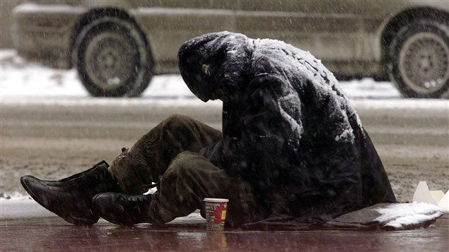Los sin techo son las primeras víctimas de las bajas temperaturas extremas.
