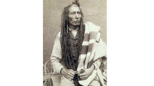 Cree Chief Poundmaker.