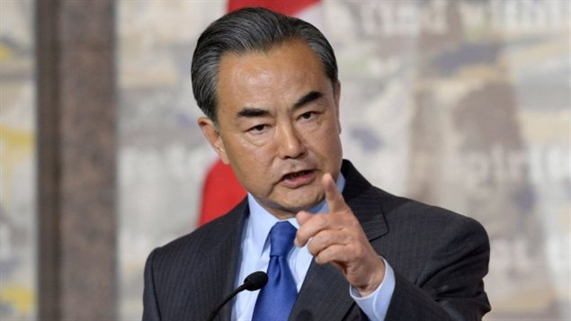 June 2016: During a press conference in Ottawa China's Minister of Foreign Affairs Wang Yi angrily lashed out at a Canadian journalist who asked a question about human rights in China.