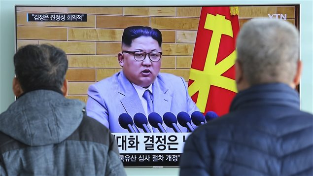On January 3, 2018 North Korean leader Kim Jung-un made a televised address saying he was willing to send a delegation to the Winter Olympics in South Korea and that he had a nuclear button on his desk.