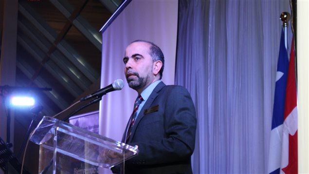 رئيس المنتدى الإسلامي الكندي سامر مجذوب