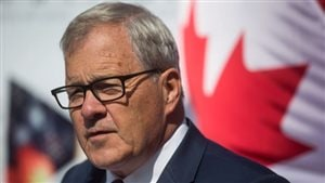 Le ministre fédéral de l'Agriculture Lawrence MacAulay Photo : The Canadian Press/DARRYL DYCK