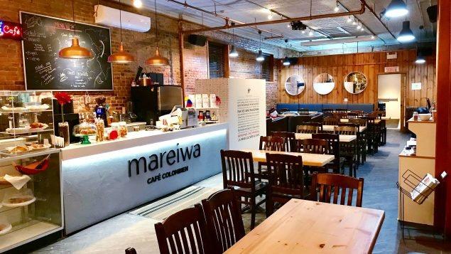 Café Mareiwa en Saint-Hyacinthe, Quebec, Canadá.