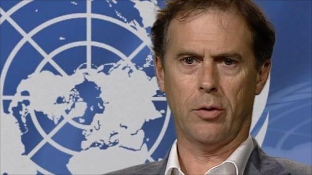 Rupert Colville. Ces propos montrent le « pire côté de l'humanité, en validant et encourageant le racisme et la xénophobie », a asséné le représentant de l'ONU.