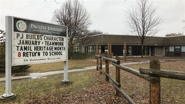 المدرسة التي وقع الاعتداء في محيطها