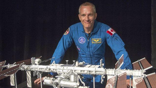 L'astronaute David Saint-Jacques décollera en direction de la Station spatiale internationale en novembre prochain. Photo : La Presse canadienne/Ryan Remiorz