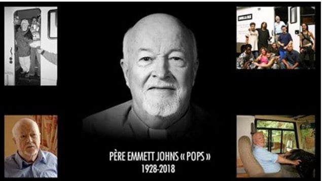 Dans la rue's mission remains strongly rooted in Pops' philosophy of dedication, empathy, and respect. His enduring legacy is one of acceptance without judgement and this legacy will continue to inspire and to guide the staff and volunteers as they carry on his important work.- Dans la Rue-facebook announcement of his passing