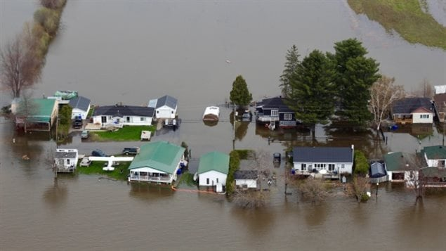 May 2017: Record floods in western Quebec were another sign of a strange weather year