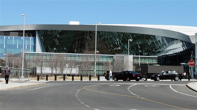 The new Communications Security Establishment building in Ottawa. Responsible for foreign signals intelligence, a new mandate would seemingly allow it to engage in internal intelligence gathering as well.