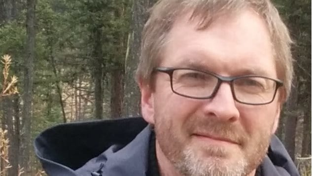 Jon Gartly is executive director of the Southern Alberta Bible Camp, says he can't agree with signing the government document for funding with a requirement that goes against their religious beliefs.