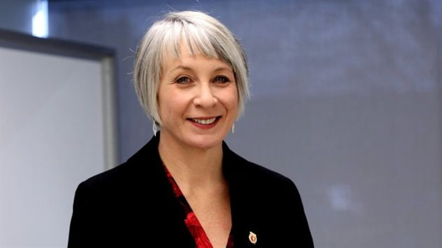 Federal Labour Minister Patty Hajdu- the government says the funding is in line with Canada's Charter of Human Rights.