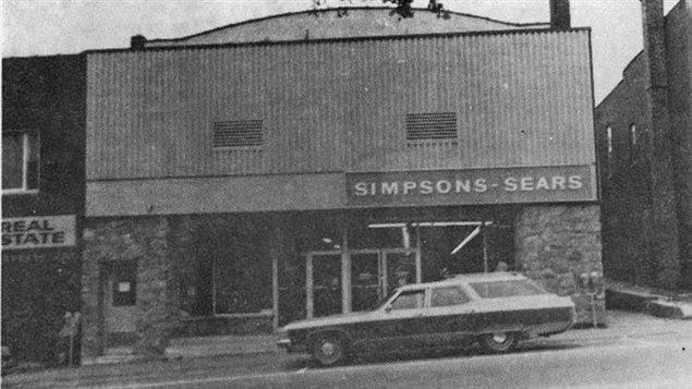 Una antigua tienda de Simpson-Sears en la localidad de Huntsville, Ontario.