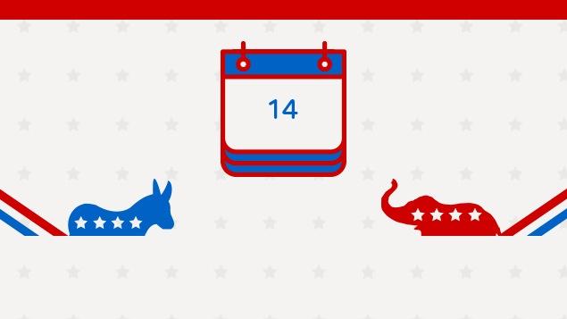 Les dates clés de l'élection américaine