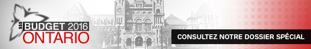 Budget de l'Ontario