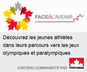 Face à l'avenir : Découvrez les jeunes athlètes dans leurs parcours vers les jeux olympiques et paralympiques. Contenu commandité par Petro-Canada.