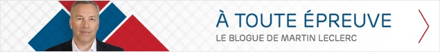 À toute épreuve, le blogue de Martin Leclerc.