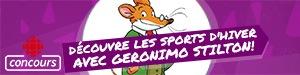 Découvre les sports d'hiver avec Geronimo Stilton!