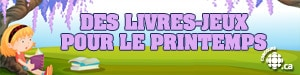 Des livres-jeux pour le printemps!