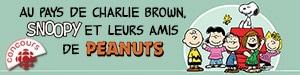 Au pays de Charlie Brown, Snoopy et leurs amis de Peanuts!
