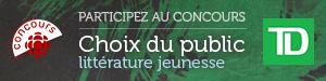 Concours Choix du public littérature jeunesse - Du 26 septembre au 23 octobre 2016