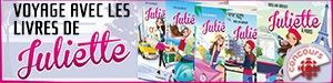 Concours Voyage avec les livres de Juliette! - Du 8 au 29 juillet 2016