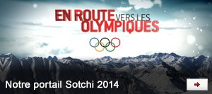 En route vers les olympiques