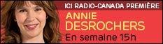 Avec Annie Desrochers