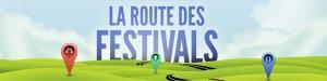 La route des festivals