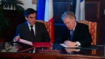 François Fillon et Jean Charest
