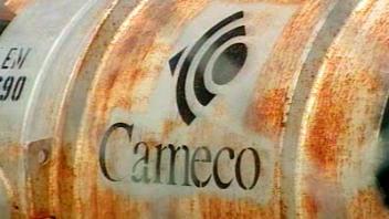 Contenant du groupe Cameco, spécialisé dans le nucléaire