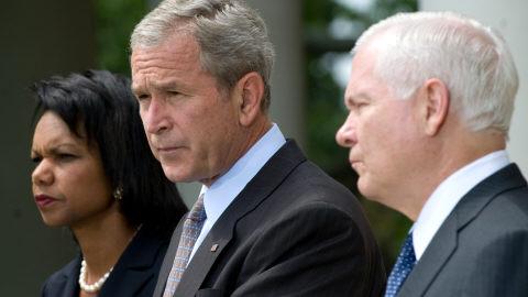 Annonce de G. Bush