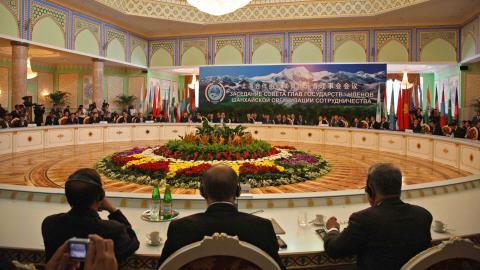 La crise géorgienne est au coeur des discussions lors du sommet de l'Organisation de coopération de Shanghai (OCS) qui se tient cette année au Tadjikistan.