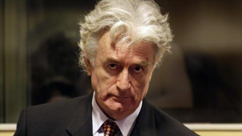 Radovan Karadzic devant le TPIY