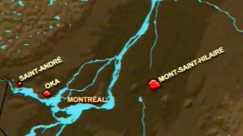 Radon dans la région de Montréal