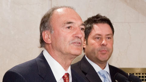 André Riedl et Pierre-Michel Auger