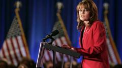 Sarah Palin, lors de son discours à Pittsburgh