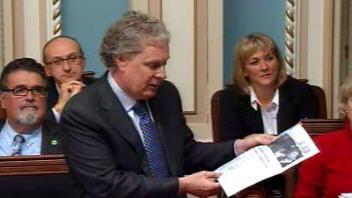 Le premier ministre Jean Charest à la période de questions