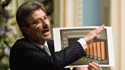 Gilles Taillon en décembre 2007