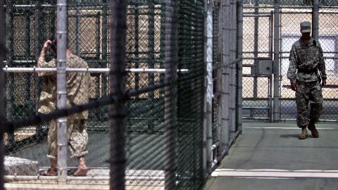 Militaires américains à Guantanamo