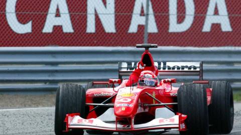Le Grand Prix de 2002 à Montréal (archives)