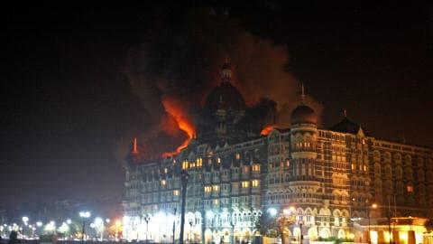 L'hôtel Taj Mahal, à Bombay