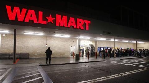 Un magasin Wal-Mart