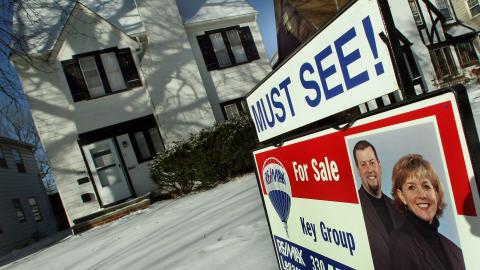 Une maison en vente