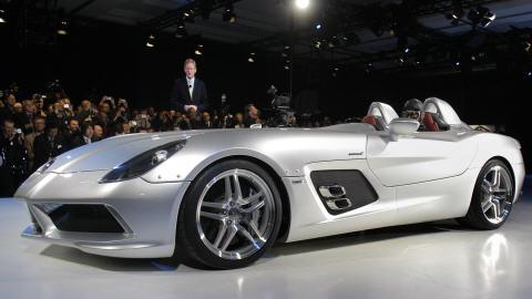 Mercedes-Benz SLR présentée au Salon de l'automobile de Detroit