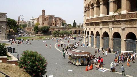 Rome et le Colisée